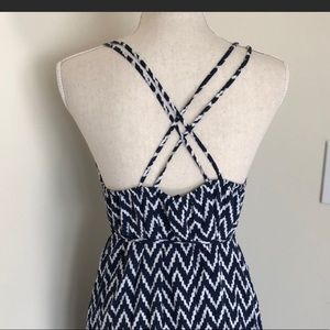 GAP Dresses - Gap Maxi Dress with criss cross strapped SOlD